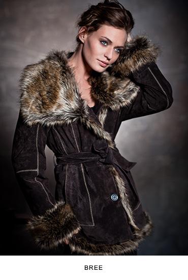 Bree női bőrkabát
