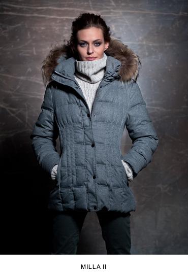 Milla II női bőrkabát