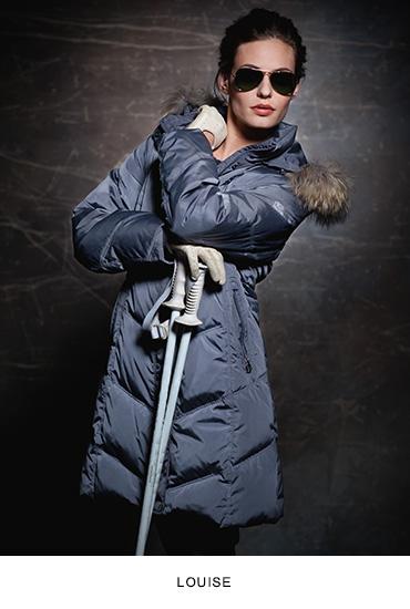 Lousie női bőrkabát